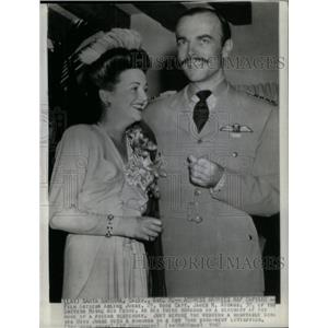 1942 Press Photo Actress Arline Judge Marries - RRX32047