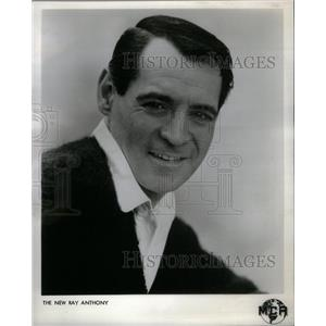1961 Press Photo Ray Anthony American bandleader Actor - RRX27603