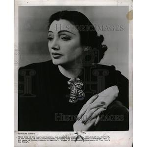 1956 Press Photo Katharine Cornell - RRW27067
