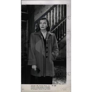 1947 Press Photo Ella Raines actress - RRW96159
