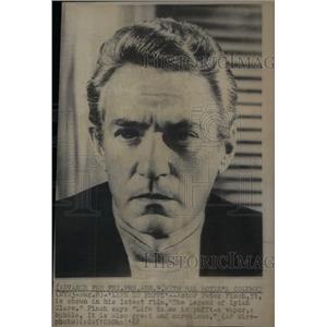 1968 Press Photo Legend Lylah Clare Film Actor Finch - RRX42463