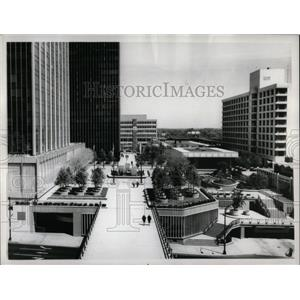 1967 Press Photo Constitution Plaza Hartford Conn.