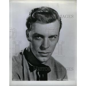 Press Photo Skip Homeier actor George Vincent - RRX32629