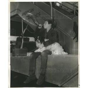 1955 Press Photo Doanld MacDonald Year Old Film Child - RRW40355
