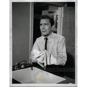 1962 Press Photo Richard Conte (Actor) - RRW20967