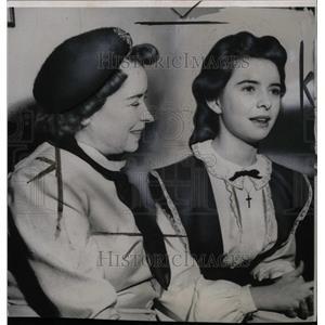 1951 Press Photo Gladys OBrein Margaret Mother Actress - RRW75035