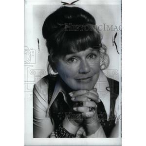 1974 Press Photo Jeanette Nolan Actress - RRX45807