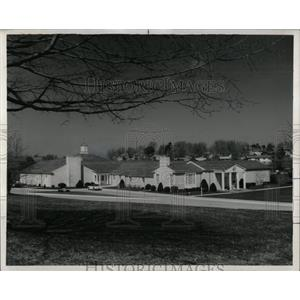 1967 Press Photo Herbert Hoover Library West Branch Iow