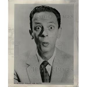 1960 Press Photo Don Knotts Comedic Actor - RRW09553