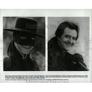 1983 Press Photo Henry Darrow American Actor. - RRW00255