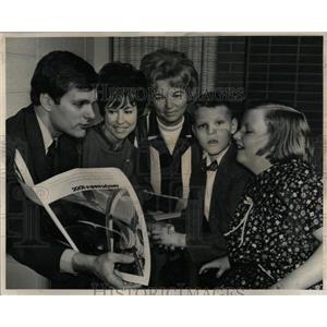 1968 Press Photo Kier Dullea (Actor)