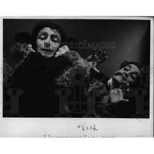 1960 Press Photo Marcel Marceau Film Mime Actor Chicago - RRW92445