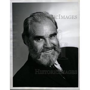 1968 Press Photo Douglas V. Fowley-Pistols n Petticoats - RRW09481