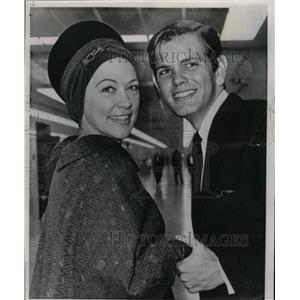 1964 Press Photo Eleanor Powell Actress Peter Ford - RRX64397