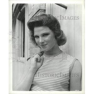 1963 Press Photo Mariette Hartley Character Actress - RRW31315