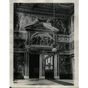 1929 Press Photo Paolina Chapel Royal Palace Rome - RRX75059