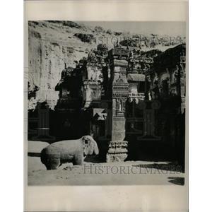 1947 Press Photo Kailasa Temple In Ellora, India - RRX69821