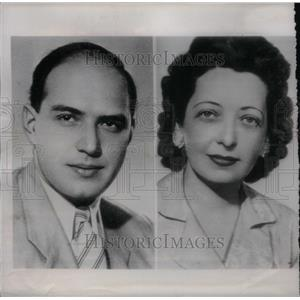 1949 Press Photo Experts Hungarian Handwriting Sulner - RRX48671