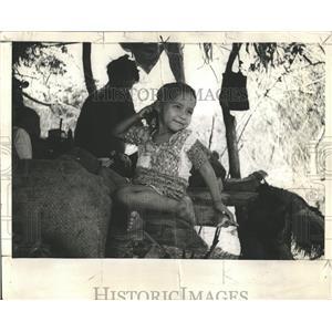 1938 Press Photo Oroya Beru India Miss America Tourist - RRX81371