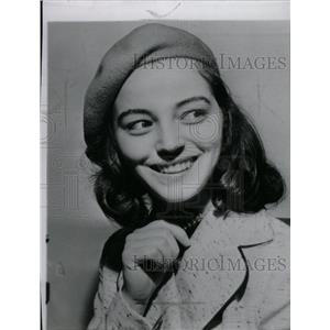 1952 Press Photo Marisa Pavan Italian-born actress Rose - RRW97467