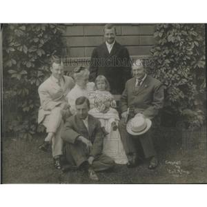 1912 Press Photo Vice President Sherman and His Family Richard U. Sherman