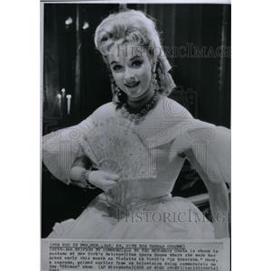 1964 Press Photo Mary Costa Singer/Actor - RRX47777