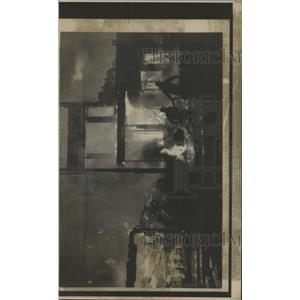 1974 Press Photo W.Virginia Berkeley Springs Hotel Fire - RRX95667