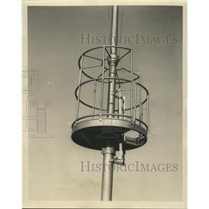 1937 Press Photo Life guard tower at Jackson Park Beach - RRW44209