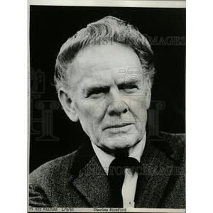 1962 Press Photo Actor Charles Bickford - RRW20267