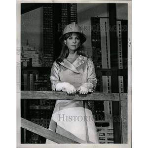 1965 Press Photo Julie Harris - RRW20503