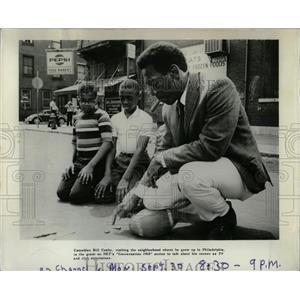 1968 Press Photo Bill Cosby,comedian,actor - RRW84435