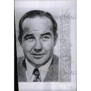 1950 Press Photo Broderick Crawford Best Actor Winner - RRX47797