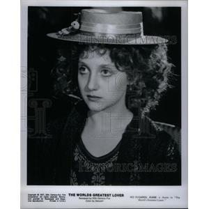 1977 Press Photo World Lover Carol Kane Annie - RRX34101