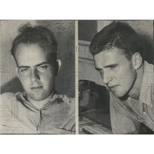1945 Press Photo College Experiment Students No Sleep