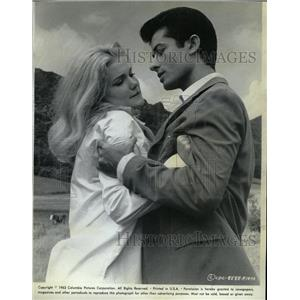 1963 Press Photo George Chakiris Yvette Mimieux Diamond - RRW11625