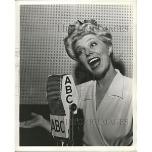 1952 Press Photo Arlene Harris (Actress) - RRW33105