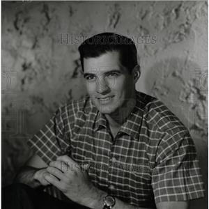 1961 Press Photo John Gavin American film actor - RRW26927