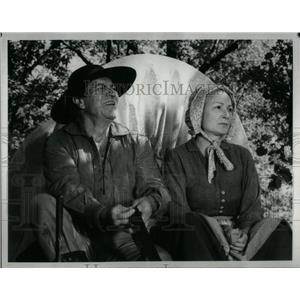 1979 Press Photo Robert Preston Harris The Chisholms - RRX55259
