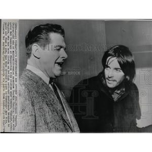1965 Press Photo MICHAEL CHAPLIN ENGLISH AMERICAN ACTOR - RRX67335