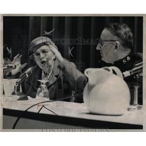 1959 Press Photo Maude L. Fiero Prof. of Sociology