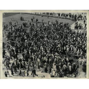 1934 Press Photo Riot California University Los Angeles - RRX61457