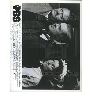 1974 Press Photo Leon Sinden David Langton Jean Marsh - RRX90339