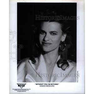 1978 Press Photo Sandra Bernhard actress singer - RRX34533