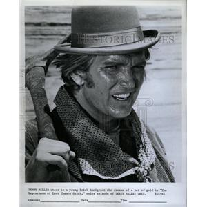 1968 Press Photo Denny Miller Death Valley Days TV - RRW15367