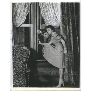 1941 Press Photo Rex Williams Eleanor Lynn Actress - RSC03665