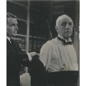 1952 Press Photo James Mason And Walter Hampden In Five Fingers - RSC91431