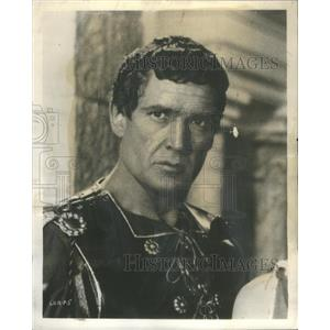 1959 Press Photo George Marshall plays Marcus Valerius in Sign of the Gladiators