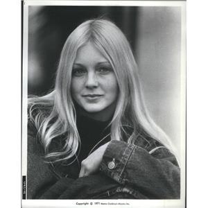 1971 Press Photo Belinda Palmer Tracy The Clay Pigeon - RSC97515