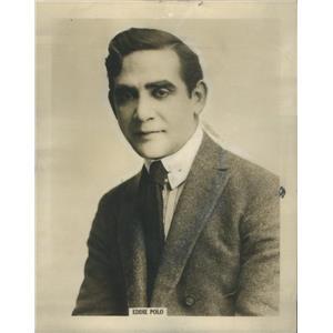 1918 Press Photo Eddie Polo Austrian American Silent Era Film Actor - RSC88545