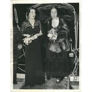 1955 Press Photo Gloria Vanderbilt Film Actress Chicago - RRX89401